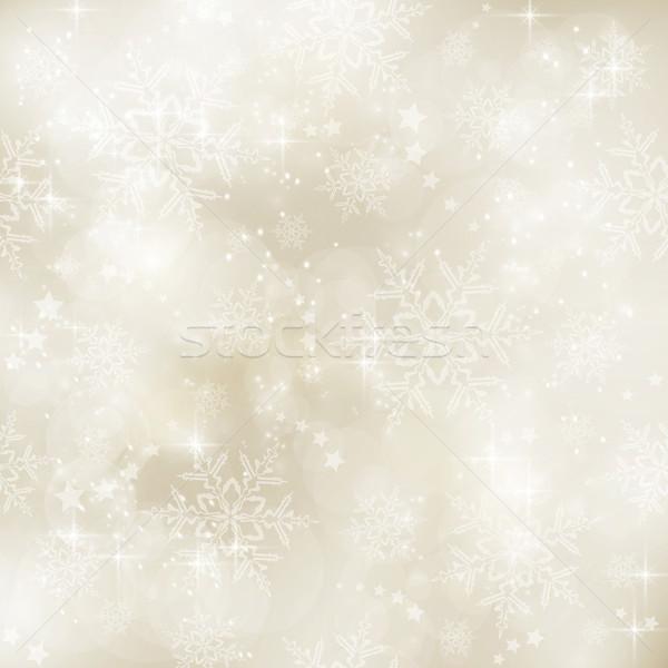 мягкой сепия зима аннотация Сток-фото © wenani