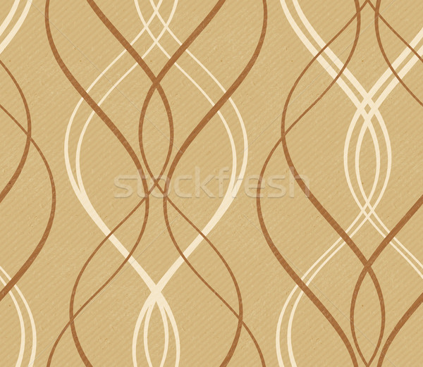 Distressed background with abstract seamless geometric wavy patt Stock photo © wenani