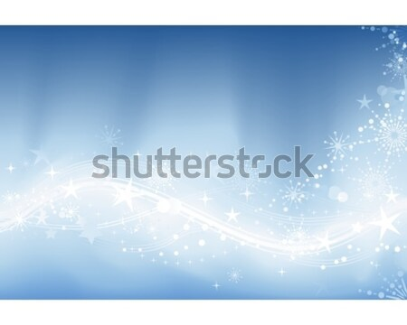 Festive blue background Stock photo © wenani