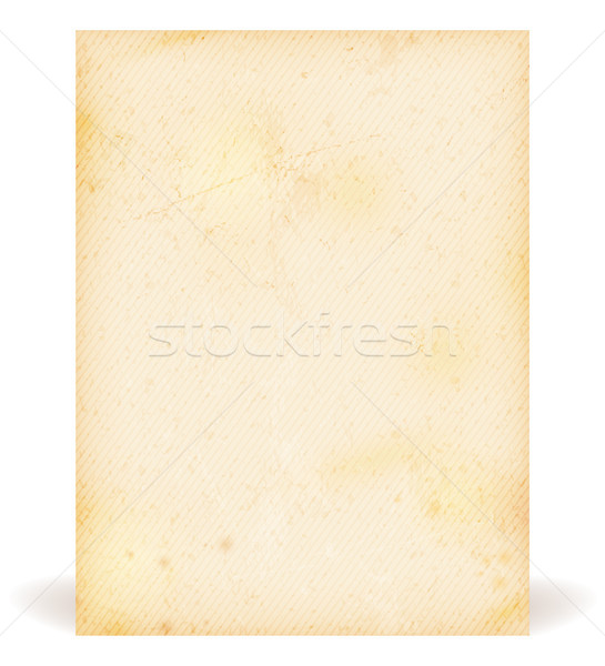 Grunge texture, old parchment Stock photo © wenani