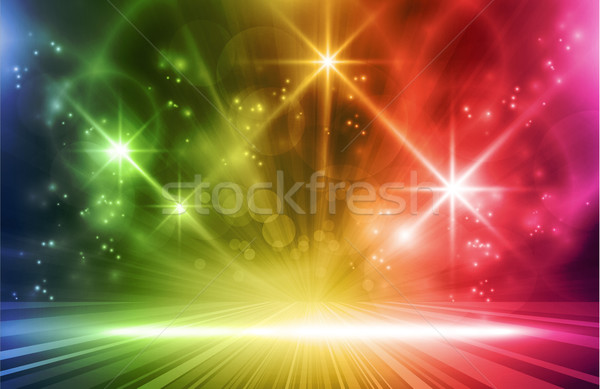 Colorful vector light effects Stock photo © wenani