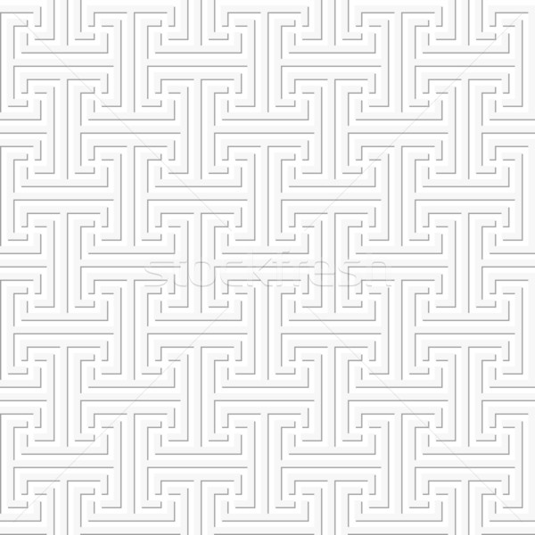 Sem costura geométrico chave padrão simples formas Foto stock © wenani