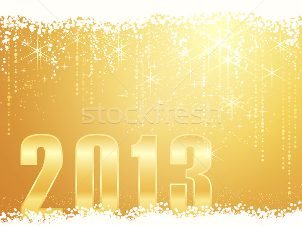 Happy New Year 2013 card Stock photo © wenani