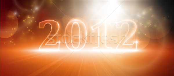 Happy new year 2012 Stock photo © wenani