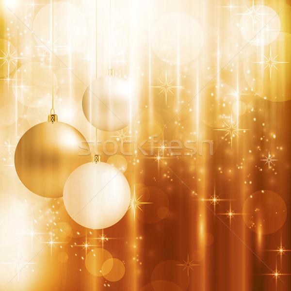 Zdjęcia stock: Złoty · efekty · świetlne · świetle
