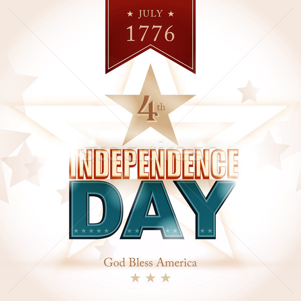 USA Indenpendence Day background Stock photo © wenani
