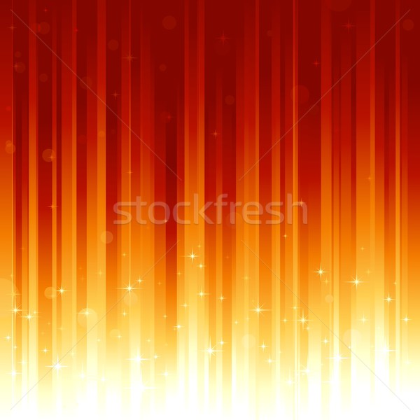 Red golden vertically striped background Stock photo © wenani
