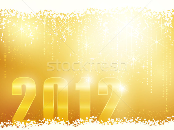 Happy New Year 2012 card Stock photo © wenani