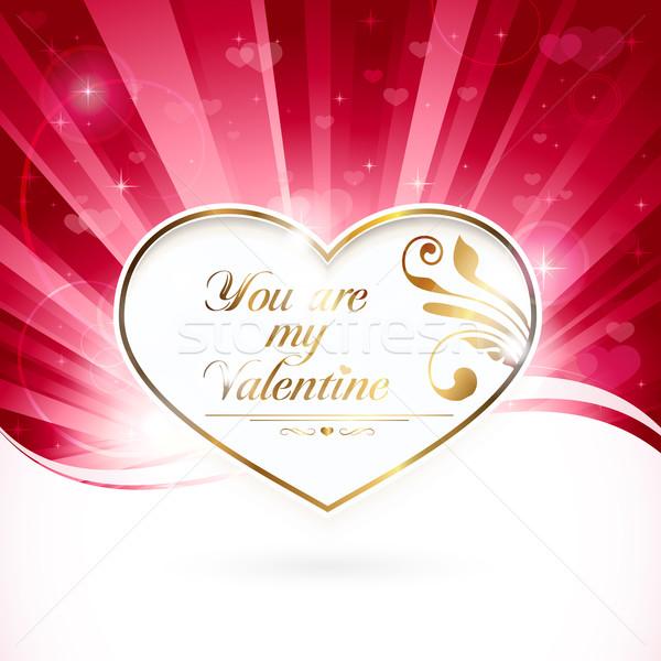 You are my Valentine Stock photo © wenani