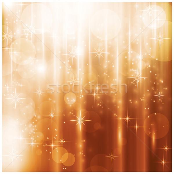 Lumières étoiles effets de lumière Photo stock © wenani