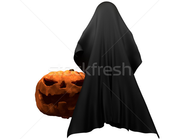 Fantasma criatura horror halloween 3D Foto stock © Wetzkaz