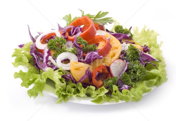 красочный Салат смешанный овощей продовольствие зеленый Сток-фото © Wikki