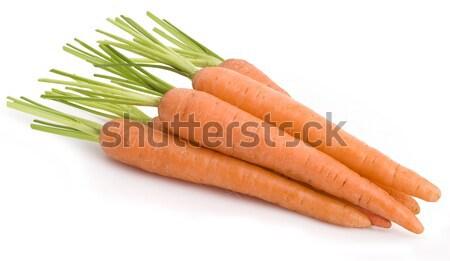 Wortel plantaardige groep witte voedsel natuur Stockfoto © Wikki