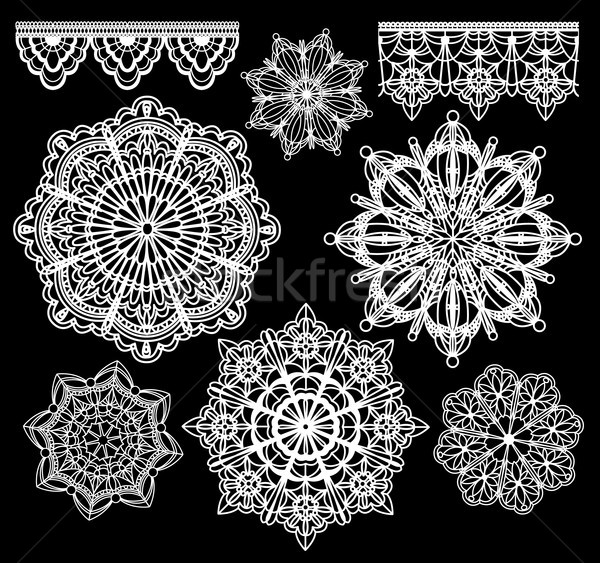 Vector lace Stock photo © Wikki