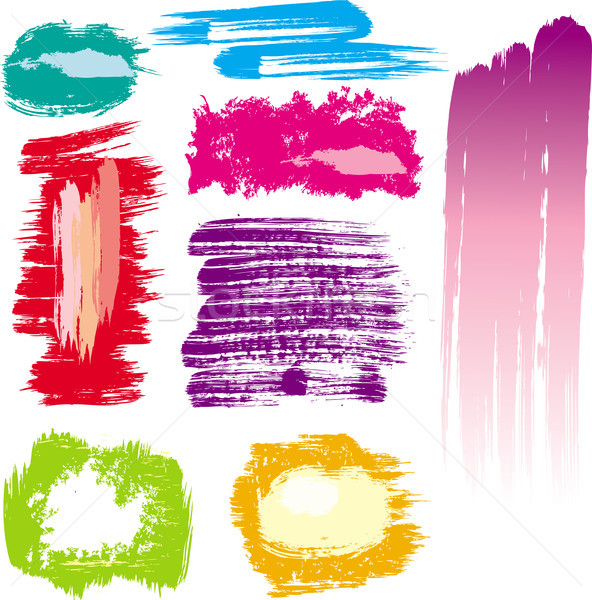 цвета краской искусства радуга Сток-фото © Wikki