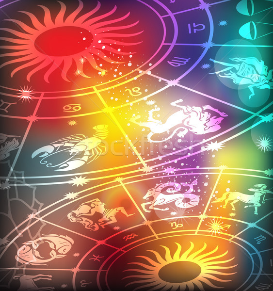 Horoscope background Stock photo © Wikki