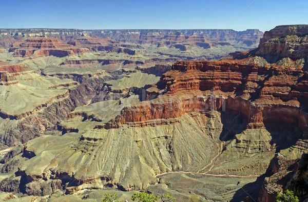 Kanyon távoli Grand Canyon természet panoráma távoli Stock fotó © wildnerdpix