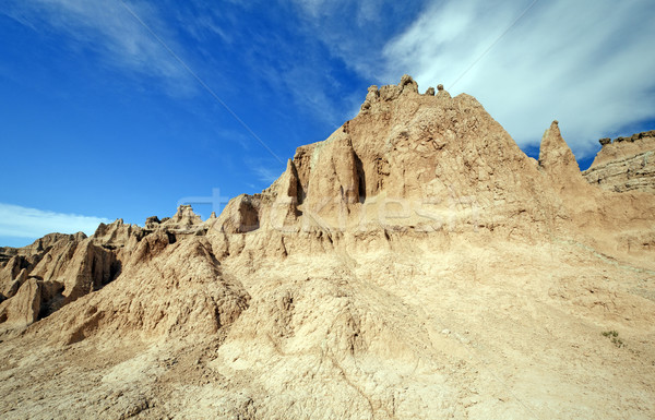 High Clouds over the Badlands Stock photo © wildnerdpix