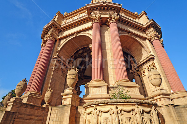 Details of Classical Corinthian Columns Stock photo © wildnerdpix