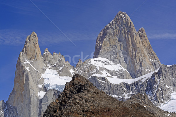 Soaring Peaks in the Andes Stock photo © wildnerdpix