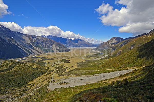 谷 南 島 ニュージーランド 風景 ストックフォト © wildnerdpix