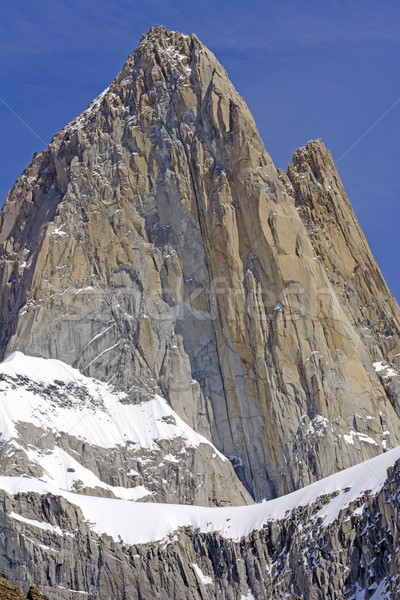Bare Rock Pinnacle in the Sky Stock photo © wildnerdpix