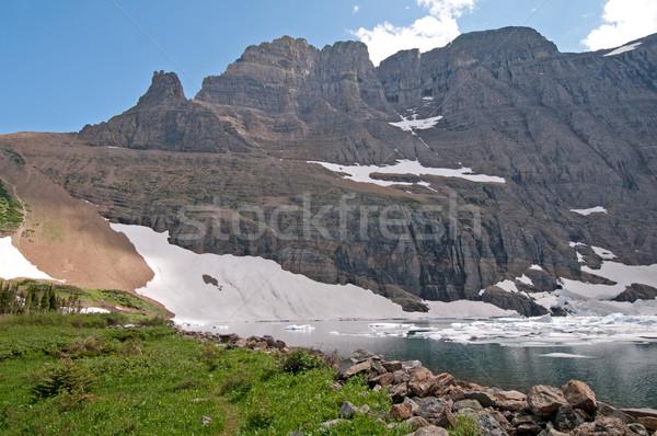 rocks, water, and ice Stock photo © wildnerdpix