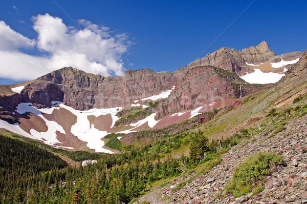Red Peaks in the Wilds Stock photo © wildnerdpix