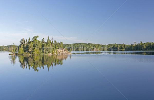 Calm Morning in the North Woods Stock photo © wildnerdpix