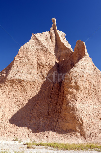 Pinnacle in the Badlands Stock photo © wildnerdpix