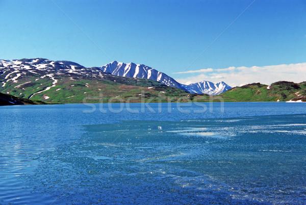 Lost Lake in the Kenai Mountains Stock photo © wildnerdpix