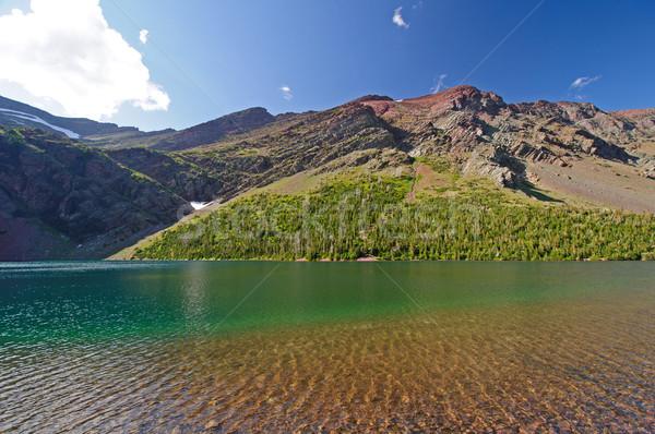 Summer on a Mountain Lake Stock photo © wildnerdpix