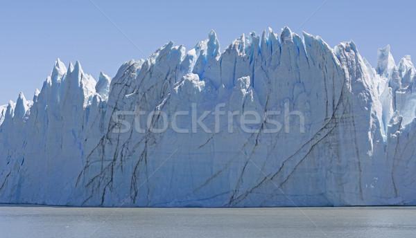 Sheer Face of an Alpine Glacier Stock photo © wildnerdpix