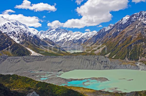 壮大な 高山 ニュージーランド 調理 谷 山 ストックフォト © wildnerdpix