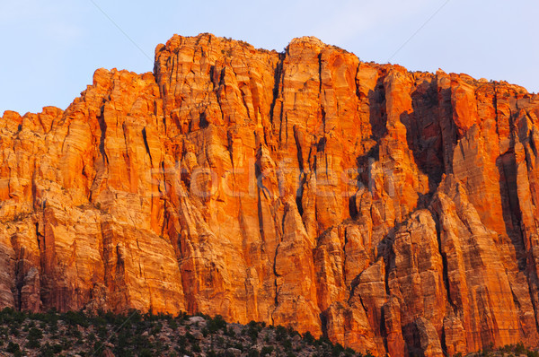 Red Rock at Sunset Stock photo © wildnerdpix