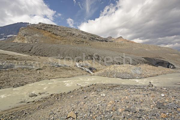 Glacial Moraine in the Mountains Stock photo © wildnerdpix