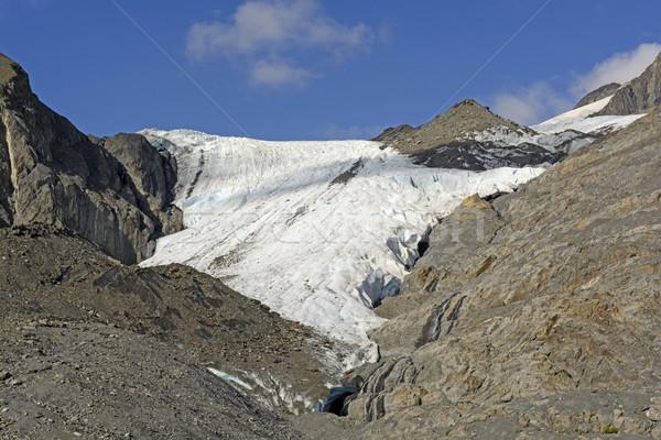 Foto d'archivio: Ghiacciaio · fuori · montagna · montagna · Ocean · ghiaccio