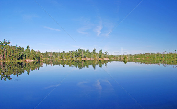 Calm waters by the Falls Chain Stock photo © wildnerdpix