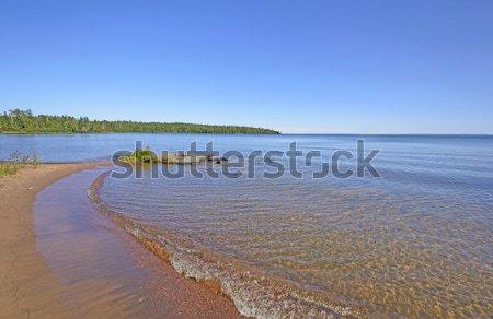 Quiet Bay on the the Great Lakes Stock photo © wildnerdpix