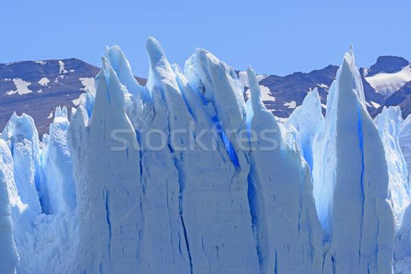 льда ледник парка Аргентина пейзаж удаленных Сток-фото © wildnerdpix