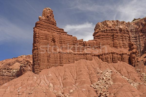 Kaya dışarı kum park Utah Stok fotoğraf © wildnerdpix