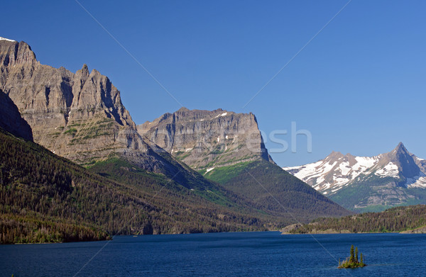 Mountains of the St Mary Valley Stock photo © wildnerdpix