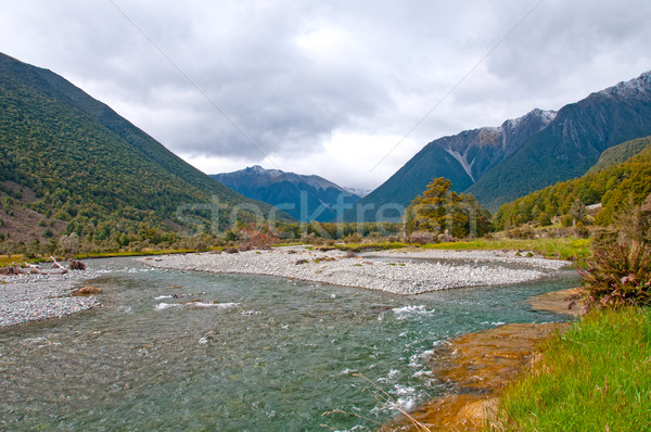 Glacial River at its afternoon peak Stock photo © wildnerdpix