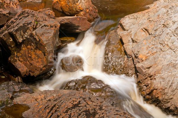 小 カスケード 峡谷 白内障 川 公園 ストックフォト © wildnerdpix