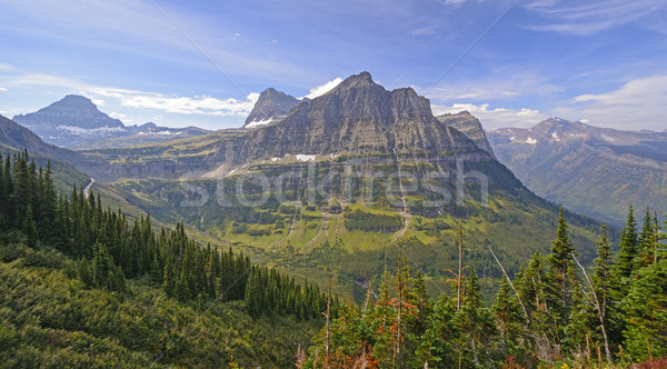 Colorful Peaks from an Alpine View Stock photo © wildnerdpix
