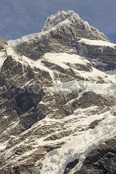 Dramatyczny szczyt francuski dolinie parku Zdjęcia stock © wildnerdpix