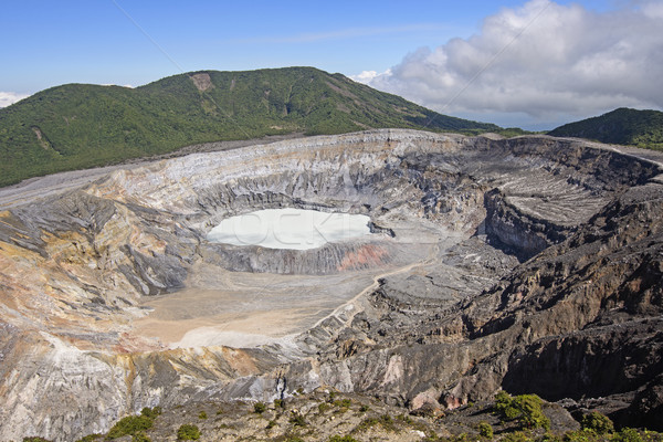 Volcanoe Crater on a Sunny Day Stock photo © wildnerdpix