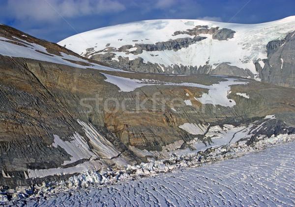 élevé montagne vue Alaska glacier nature Photo stock © wildnerdpix
