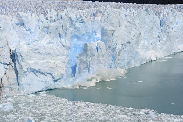 Buz buzul park Arjantin doğa Stok fotoğraf © wildnerdpix