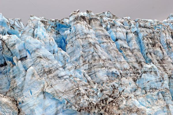 氷 ブロック アラスカ州 氷河 雪 青 ストックフォト © wildnerdpix